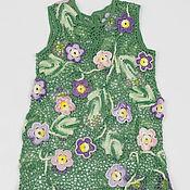 Работы для детей, ручной работы. Ярмарка Мастеров - ручная работа Цветочное платье 2. Handmade.