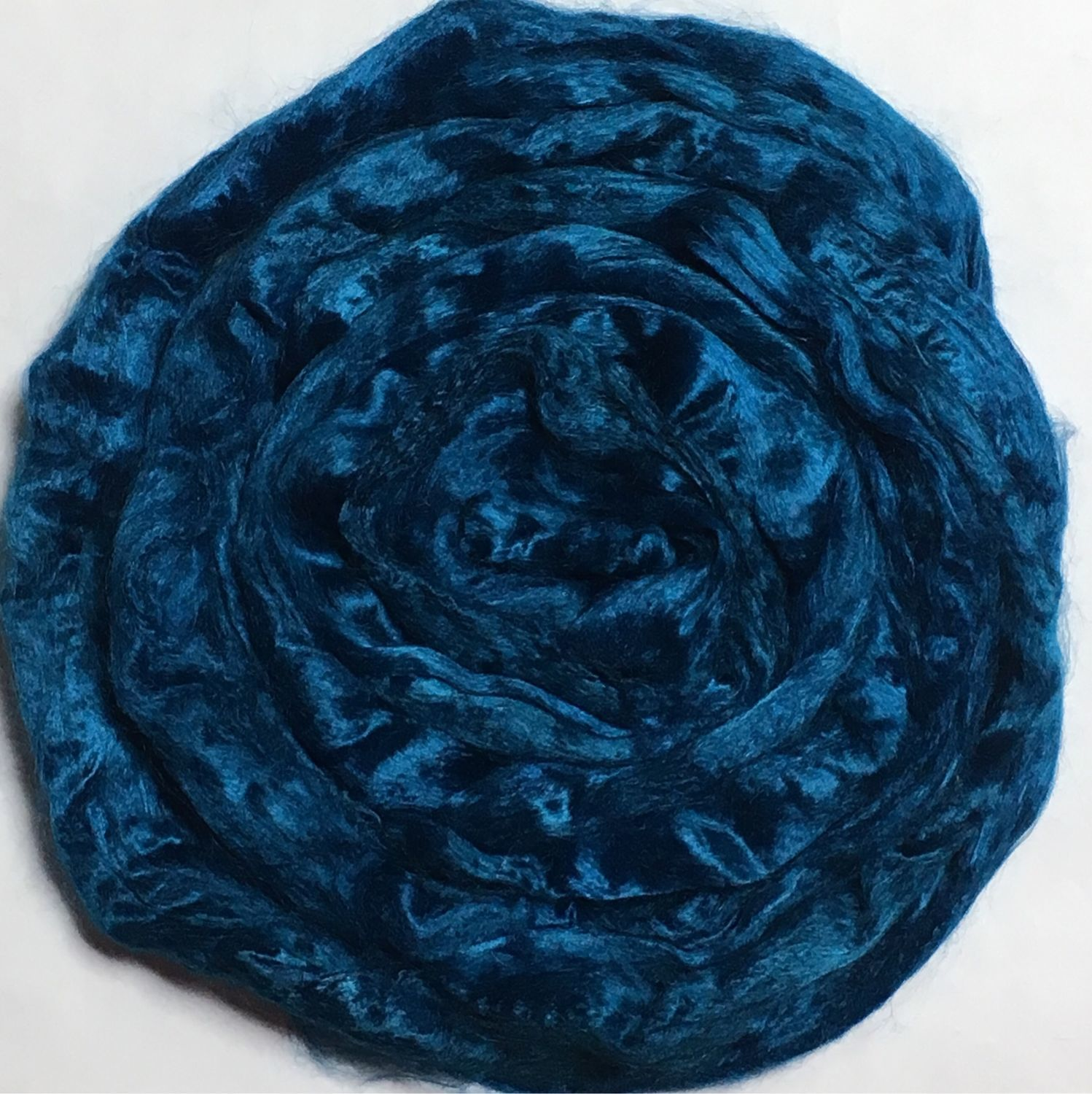 Viscose for felting the Blue sea. 10 gr. Troitsk, Fabric, Berdsk,  Фото №1