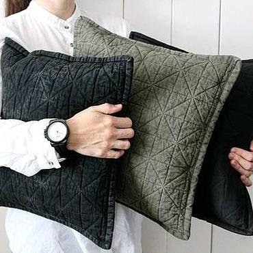 Текстиль ручной работы. Ярмарка Мастеров - ручная работа Декоративная чехол на подушку. Handmade.