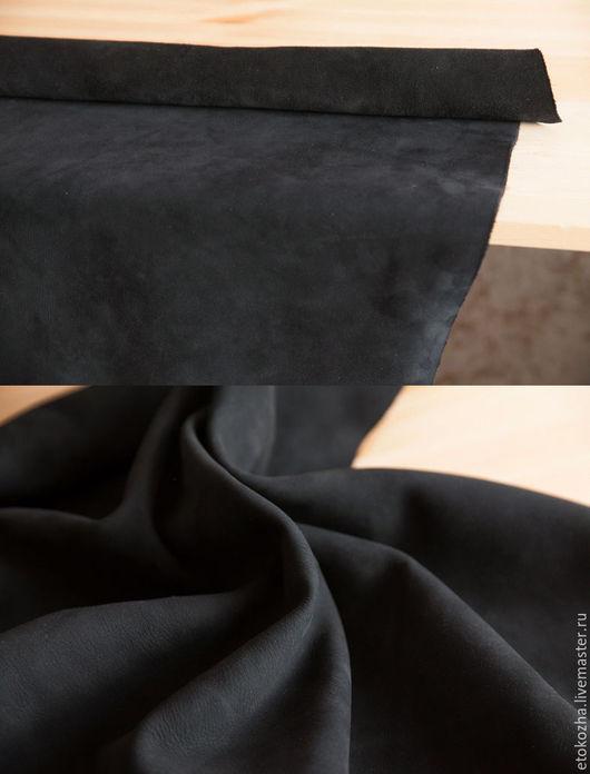 Шитье ручной работы. Ярмарка Мастеров - ручная работа. Купить Натуральная кожа НЕТ. Handmade. Черный