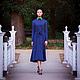 Платья ручной работы. Классическое Оксфордское платье. Таня Снеж-Лебедева @snezh. Ярмарка Мастеров. Платье вечернее, Платье из шелка