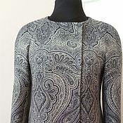 Одежда ручной работы. Ярмарка Мастеров - ручная работа 094:женский жакет, легкое пальто, жакет легкий, жакет на весну. Handmade.