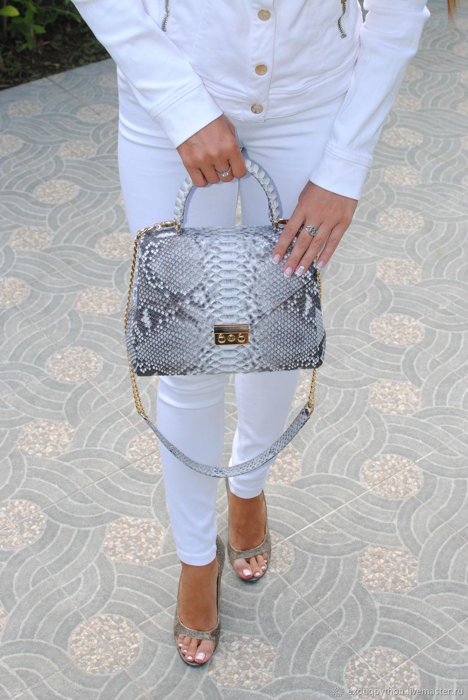 Monica Python leather bag, Classic Bag, Moscow,  Фото №1