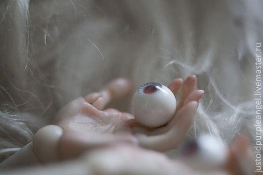 Миниатюра ручной работы. Ярмарка Мастеров - ручная работа. Купить альбинос. Handmade. Кукла, шарнирная кукла, cernit