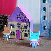 Подарки к праздникам ручной работы. Ярмарка Мастеров - ручная работа Набор чудесных игрушек. Handmade.