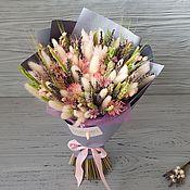 """Букеты ручной работы. Ярмарка Мастеров - ручная работа Букет из сухоцветов """"Весна"""". Handmade."""