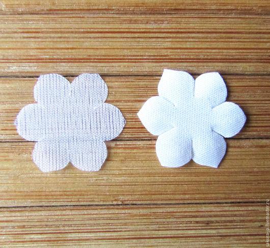Цветок ландыша, вырубка 100 шт. САКУРА - материалы для цветоделия. Ярмарка мастеров.