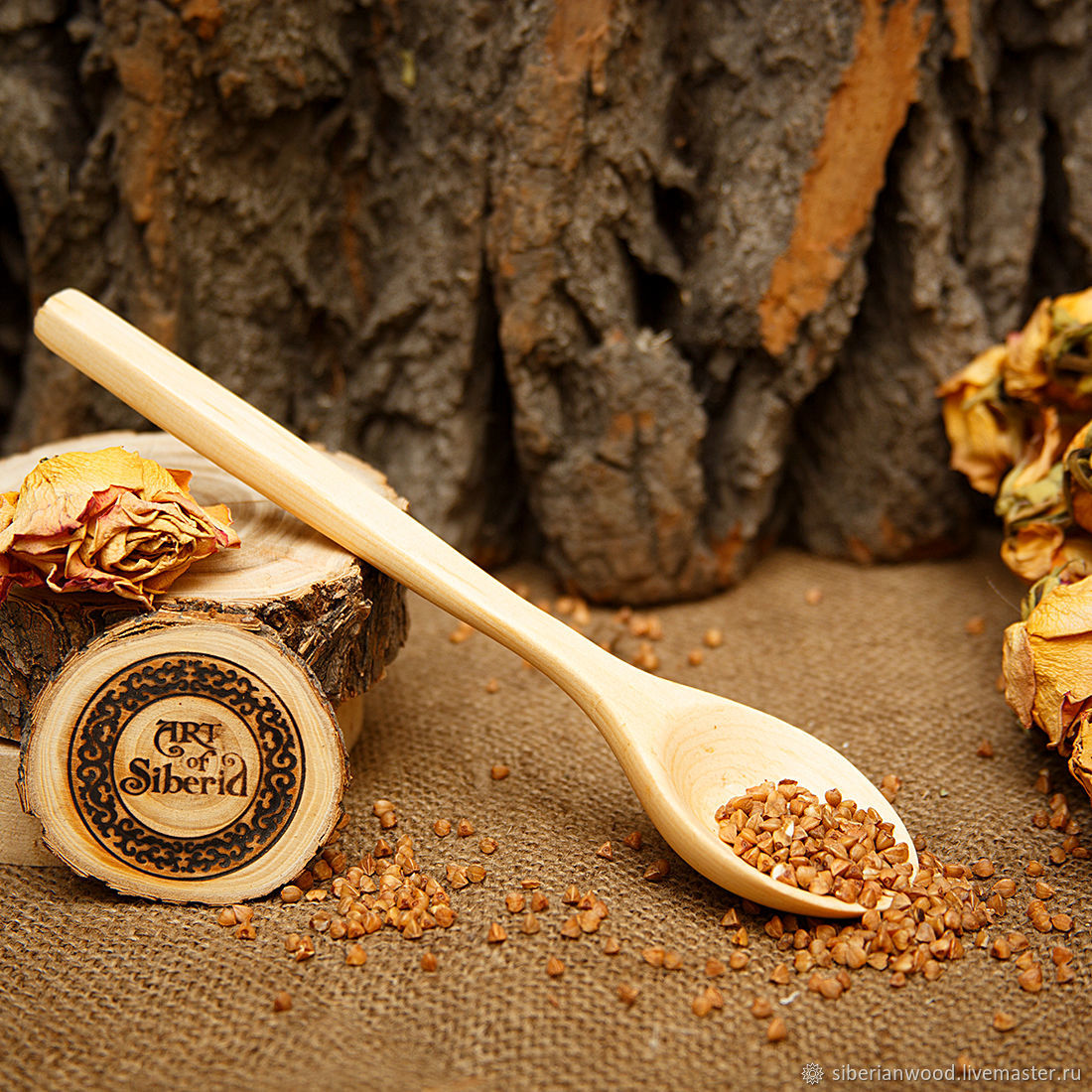Wooden spoon 21#20, Spoons, Novokuznetsk,  Фото №1