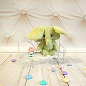 Куклы и игрушки ручной работы. Ярмарка Мастеров - ручная работа Фисташковый мамонтенок. Handmade.