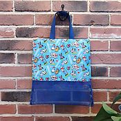 Сумки и аксессуары handmade. Livemaster - original item Sand bag, children`s beach bag. Handmade.