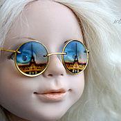 Материалы для творчества ручной работы. Ярмарка Мастеров - ручная работа Делаем очки с прозрачными изображениями для кукол и игрушек Видеокурс. Handmade.