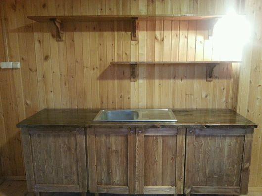 Мебель ручной работы. Ярмарка Мастеров - ручная работа. Купить Кухня Лофт. Handmade. Кухня лофт, кухня, деревянная кухня
