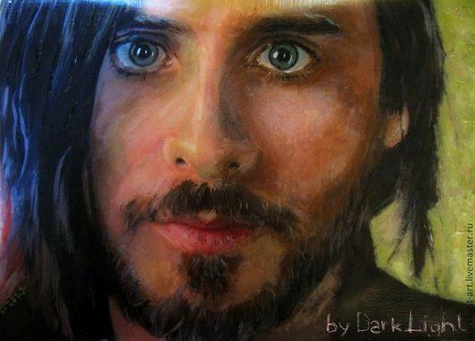 """Люди, ручной работы. Ярмарка Мастеров - ручная работа. Купить Картина портрет """"Джаред"""". Handmade. Картина, люди, портрет на заказ"""