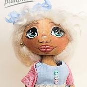 Куклы и игрушки ручной работы. Ярмарка Мастеров - ручная работа Кукла Тыквоголовка Виолетта. Handmade.