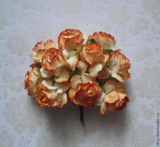 Открытки и скрапбукинг ручной работы. Ярмарка Мастеров - ручная работа. Купить Оранжевые розы. Handmade. Оранжевый, оранжевые розы, розы