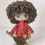 Мягкие игрушки ручной работы. Ярмарка Мастеров - ручная работа Мягкие игрушки: домовёнок Кузя. Handmade.