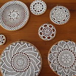 Салфетки-подвески (natalia-panno) - Ярмарка Мастеров - ручная работа, handmade