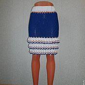 Одежда ручной работы. Ярмарка Мастеров - ручная работа юбка морская. Handmade.