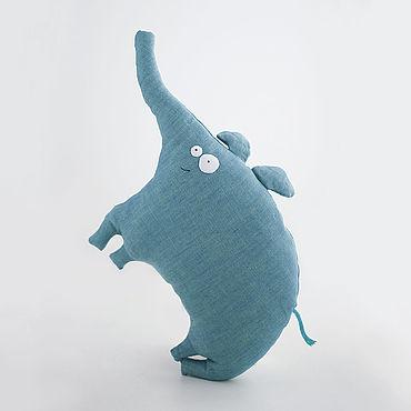 Dolls & toys handmade. Livemaster - original item Copy of Copy of Velor pillow toy Bunny. Handmade.