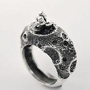 Кольца ручной работы. Ярмарка Мастеров - ручная работа Лунный Мечтатель - кольцо из серебра. Handmade.