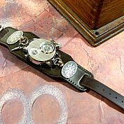 handmade. Livemaster - original item Watch steampunk