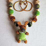 """Одежда ручной работы. Ярмарка Мастеров - ручная работа Слингобусы с игрушкой-погремушкой """" Кролик"""". Handmade."""