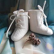 Работы для детей, ручной работы. Ярмарка Мастеров - ручная работа Валеночки для малыша. Handmade.
