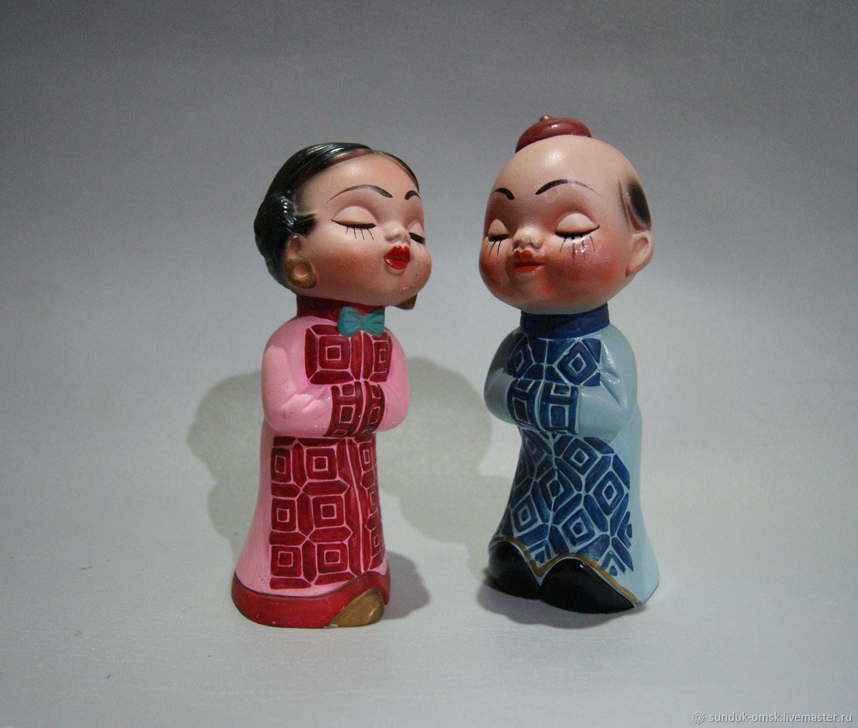 Винтаж: Китайская пара, Предметы интерьера винтажные, Омск,  Фото №1