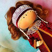 Для дома и интерьера handmade. Livemaster - original item Gift to a girl doll in Russian-folk costume for home or play. Handmade.