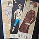Обучающие материалы ручной работы. Ярмарка Мастеров - ручная работа. Купить Альбомы  Моды с рисунками  одежды 1967-68гг. (3 шт.). Handmade.
