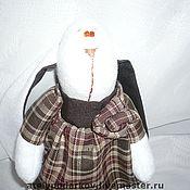 Куклы и игрушки ручной работы. Ярмарка Мастеров - ручная работа Заяц Виолетта. Handmade.