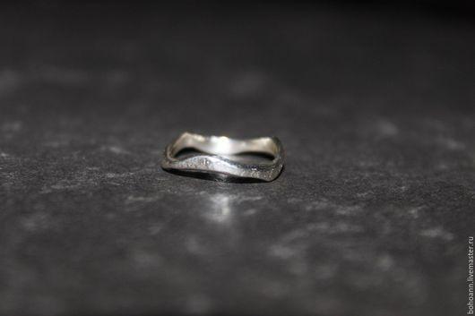 Кольца ручной работы. Ярмарка Мастеров - ручная работа. Купить Нессиметричное  кольцо. Handmade. Серебряный, серебряное кольцо, кольцо серебряное