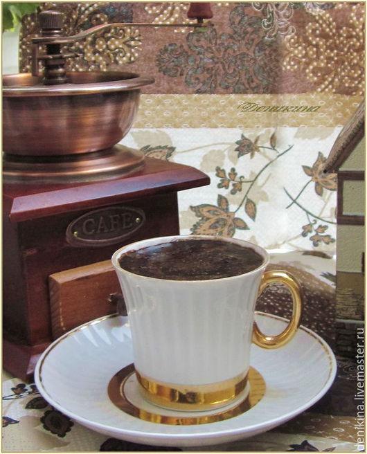 """Скраб ручной работы. Ярмарка Мастеров - ручная работа. Купить """"Кофе как образ жизни"""", подарочный набор скрабов. Handmade. Деникина"""