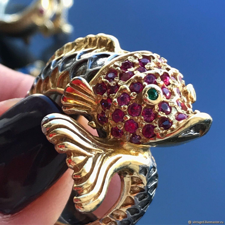 Кольцо Золотая Рыбка, Кольца, Москва,  Фото №1
