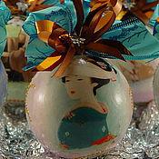 Подарки к праздникам handmade. Livemaster - original item A set of balls Geisha. Handmade.