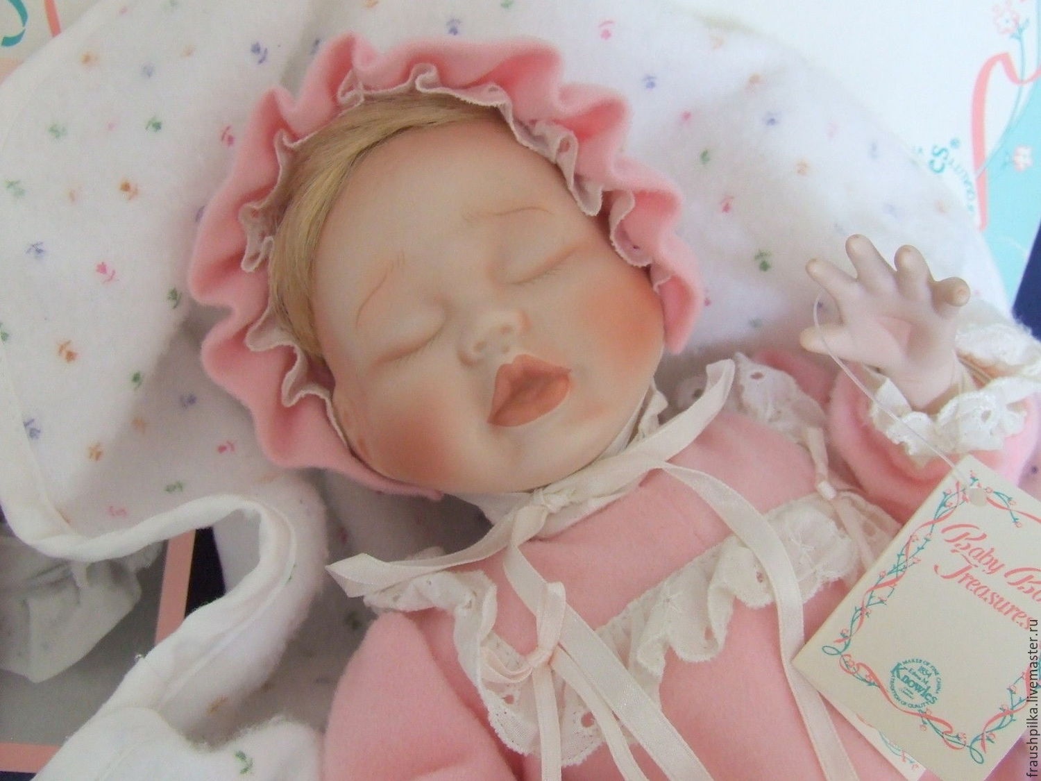 Collectible porcelain doll from Kathy berry Hippensteel, Dolls, Kempten,  Фото №1