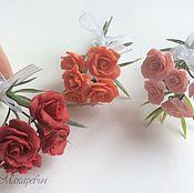 Куклы и игрушки handmade. Livemaster - original item Flowers for Dollhouse miniatures in the range. Handmade.