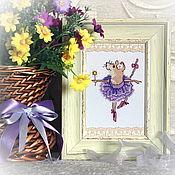Сувениры и подарки handmade. Livemaster - original item Purple dreams. Handmade.