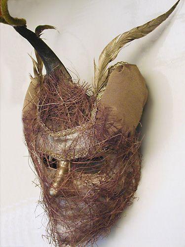 Интерьерные  маски ручной работы. Ярмарка Мастеров - ручная работа. Купить Маски для праздника и интерьера. Handmade.