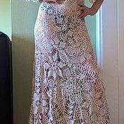 Одежда ручной работы. Ярмарка Мастеров - ручная работа Платье вязаное крючком .Ирландское кружево, вязание .. Handmade.