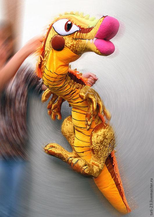 Кукольный театр ручной работы. Ярмарка Мастеров - ручная работа. Купить Чудо-Юдо. Театральная планшетная кукла.. Handmade.