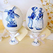 Подарки к праздникам ручной работы. Ярмарка Мастеров - ручная работа Сувенирные пасхальные яйца.. Handmade.