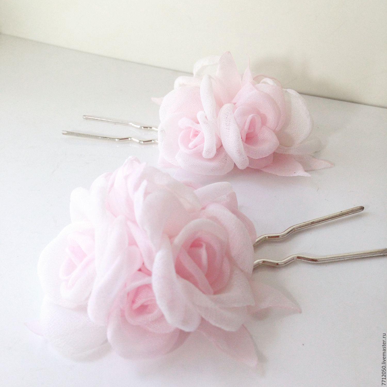 Купить цветы из ткани для прически доставка цветов на дом тамбов