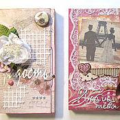 """Подарки к праздникам ручной работы. Ярмарка Мастеров - ручная работа шоколадницы из серии """"Милое ретро"""". Handmade."""