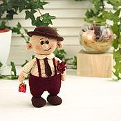 Куклы и игрушки handmade. Livemaster - original item Dolls and dolls: souvenir doll Valentin Valentinich. Handmade.