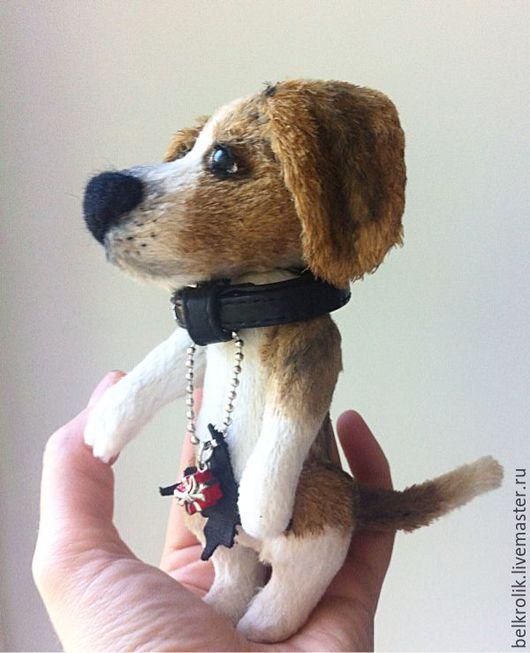 Мишки Тедди ручной работы. Ярмарка Мастеров - ручная работа. Купить Тедди собака Бигль Джон. Handmade. Тедди собака