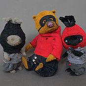 Куклы и игрушки ручной работы. Ярмарка Мастеров - ручная работа Вареник, Моченый и Сухарь. Handmade.