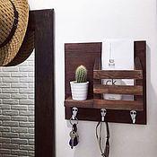 Для дома и интерьера handmade. Livemaster - original item The housekeeper on the wall in the corridor. Handmade.