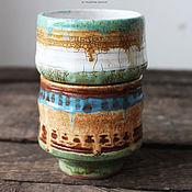 Посуда ручной работы. Ярмарка Мастеров - ручная работа Набо бохо-пиал. Handmade.