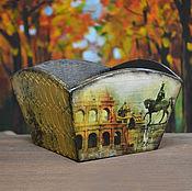 Для дома и интерьера ручной работы. Ярмарка Мастеров - ручная работа Конфетница Старый Рим. Handmade.